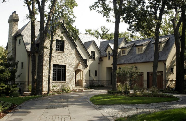 French Norman Style Home