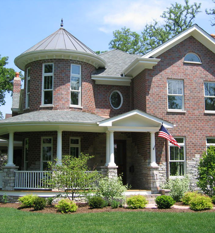 Victorian Style Home in Hinsdale